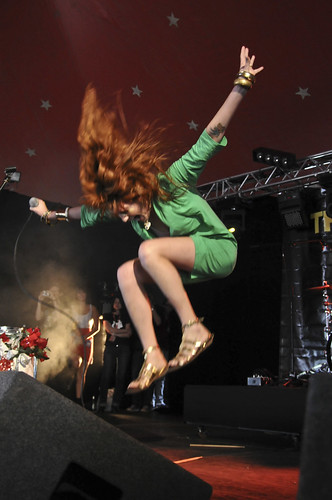 Florence & the Machine @ Reading 2008 / Andy Sheppard