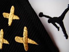 SF HUF Jordan (yamuda) Tags: sf red white black hat fire gold san francisco five air bricks jordan v 23 huf jumpman fitted yamuda