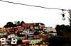 Para todos la luz... (Pankcho) Tags: poverty street light white blanco luz colors bulb calle wire colours venezuela cable colores caracas explore cielo barrio ranchos bombilla pobreza elhatillo bombillo slumps
