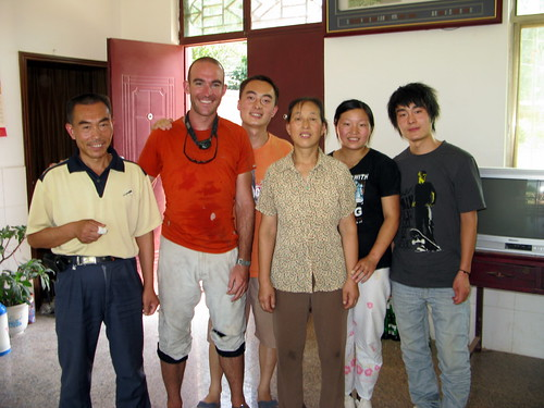 With the Chang family near Shangzhou, Shaanxi Province, China