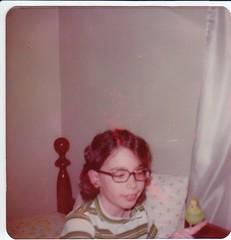 Bena_Tippy_1977.jpg (oaklandEarthGirl) Tags: scan budgie parakeet 1977