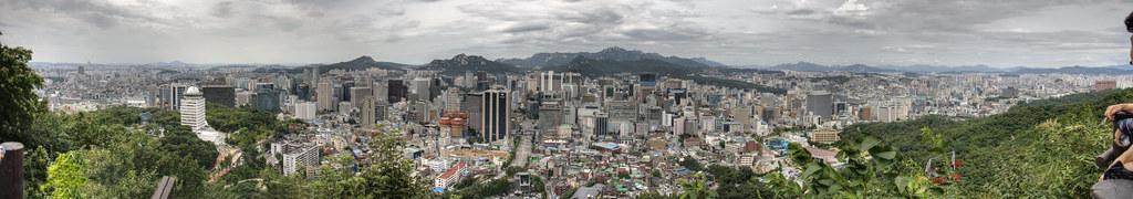 Seoul Panorama HDR