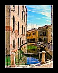 Venice Canal (Allard Schager) Tags: 2005 city venice italy architecture canal olympus structure innercity reflexions c750uz olympusc750uz aplusphoto allardone allard1