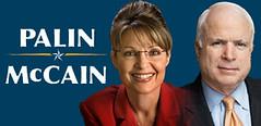Palin/McCain Campaign logo