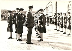 On Parade! (maisonburke) Tags: military oldphotographs airforce recruits armedservices wraf groupphotographs rafmountbatten