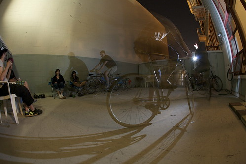 Messin' with Flashes and Bikes