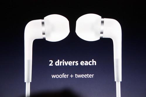 iPod nuevos audífonos