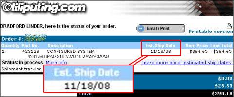 Le Lenovo S10 repoussé de 2 mois aux USA !?