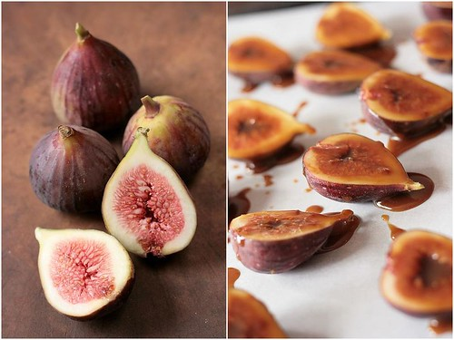 Roasted Figs, Berries and Apple Verrines