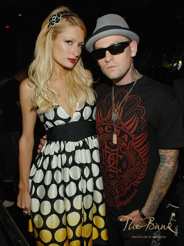Paris Hilton with Benji Madden