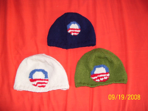 Three Obama hats by Lise Gervais