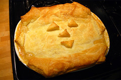 happy harvest pot pie