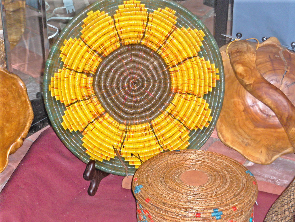 Lg Wrapped Sunflower Basket #2