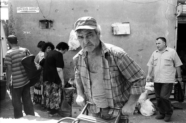 Грузия, Тбилиси июнь/ Georgia, Tbilisi, June 2008