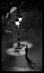 My shadow and I (anita gt) Tags: madrid shadow bw españa white black blanco person persona spain negro sombra bn 1785mm bianco nero spagna