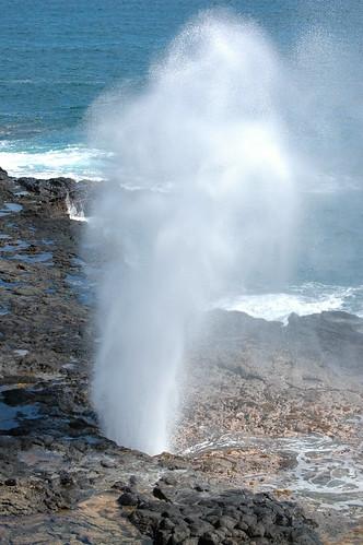 Kauai - Kukuiula - Spouting Horn