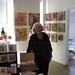 Heather King & her Work in her Studio