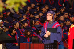 Tarya's SFU convocation ceremony
