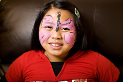 Monarch Butterfly Face Paint Face Butterfly Painting