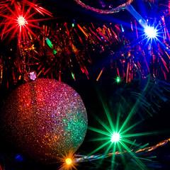 Christmas Tree (Surely Not) Tags: christmas macro tree lights scotland nikon focus edinburgh tinsel d300 f32 yourphototips
