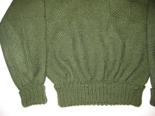 VintageWeaveItSweater 009