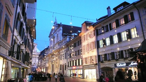 Main Street, Solothurn, Christmas 2008