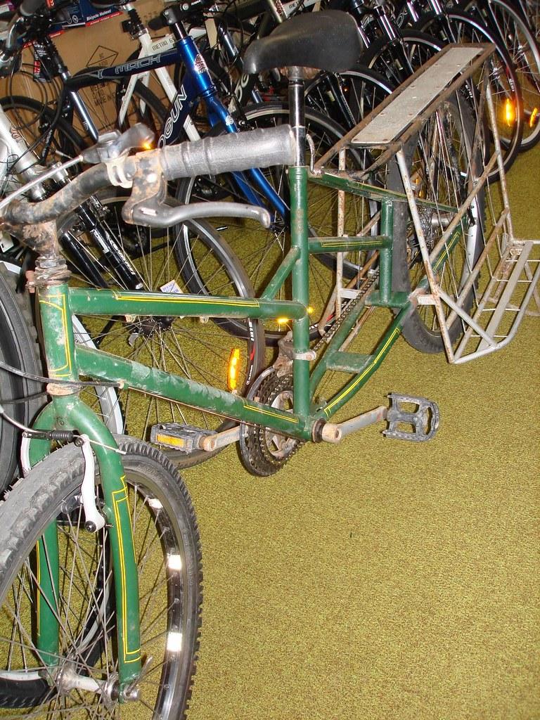 partly restored MTB based long bike