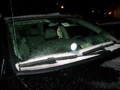 Ice on the Windshield