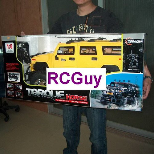 Monster Rc Scale Torque Horse Suv