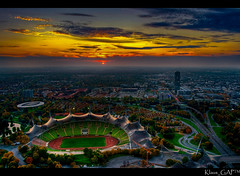 ~ M U N I C H @ sunset-time ~ EXplored (# 17) (Klaus_GAP - taking a timeout) Tags: sunset panorama tower munich mnchen geotagged arena soe hdr hdri olympiaturm olympiapark photomatix hdrpanorama abigfave platinumphoto anawesomeshot impressedbeauty theunforgettablepictures