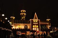 Fairytale Castle (Rudi Pauwels) Tags: göteborg flickr sweden gothenburg liseberg estrellas sverige christmasfair blueribbonwinner julmarknad nikond80 anawesomeshot