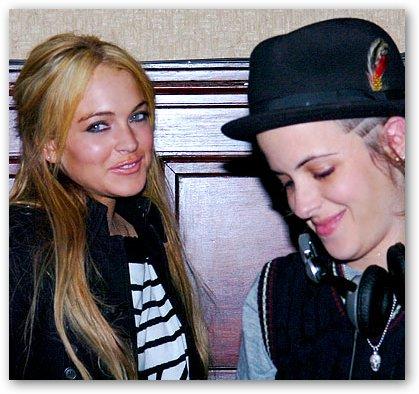 Samantha Ronson & Lindsay Lohan