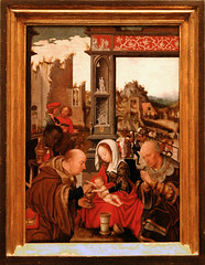 Mostaert, adoration of the magi (groenling) Tags: saint museum painting joseph paint king panel maria mary jesus birth kings gift rijksmuseum geschenk nativity adoration chalice magi geboorte heilige melchior koning frankincense wierook bokaal kelk museumboijmansvanbeuningen aanbidding nativitas mostaert