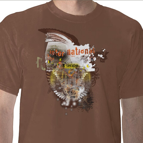 SIGGRAPH International T-shirts