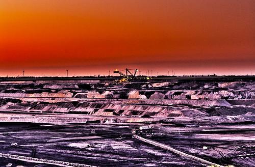 Eschweiler Brown Coal Open Cast Mine 3 - HDR - 4 Exposures