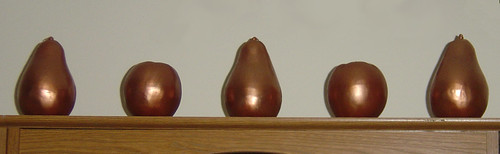 Copper Fruit Candles