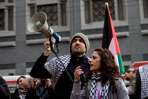 Demonstration in Solidarity with Gaza