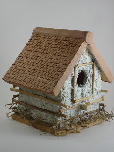 Polymer Clay Birdhouse