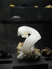 Terra Mineralia 2- Gips (goblin2601) Tags: travel museum germany magic mining steine sachsen mineral terra reise gips freiberg bergbau schlos bergstadt schlossfreudenstein mineralia terramineralia