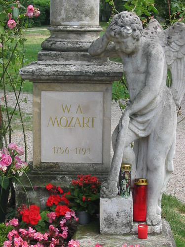 Tomb of Mozart, Maincemetery Vienna, Austria