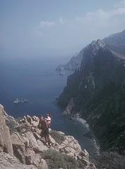 Promenade du Capu Rossu : montée à la Tour de Turghju