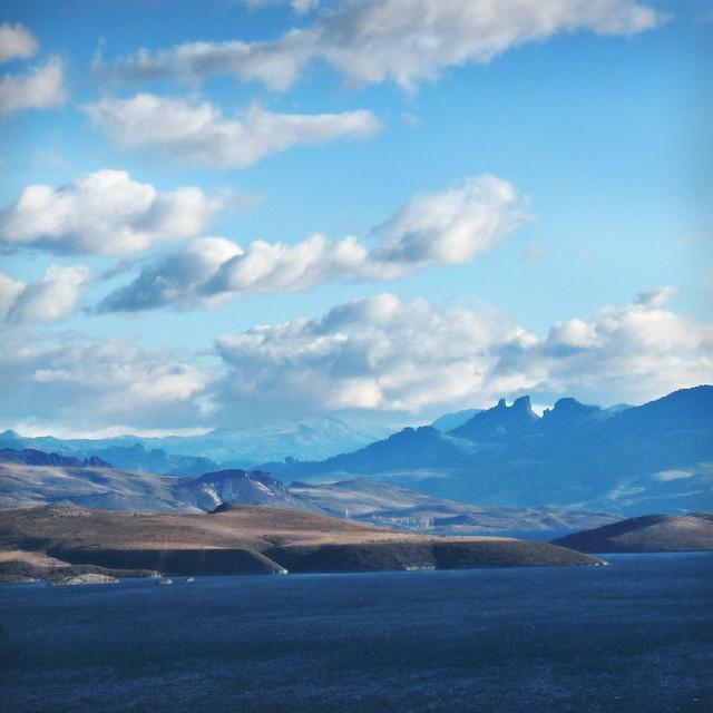 Un inmenso panorama.....azul