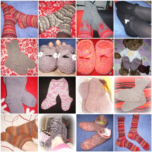 socks & slippers 2008