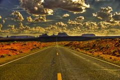 Monument Valley Mile Marker 13 (theavonne) Tags: park trip summer arizona clouds utah ut nikon forrest great az national american gump monumentvalley d80 rutowski milemarker13 southwestpaul