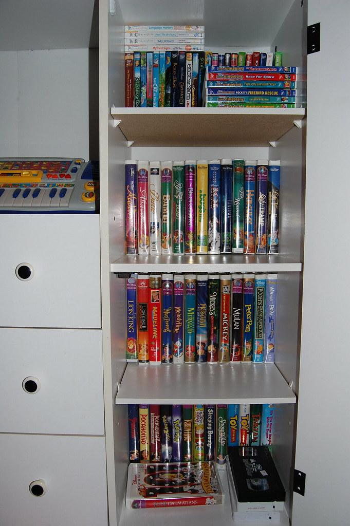Organizing Kids Movies
