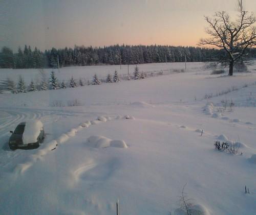 Pro langa žiemą
