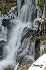 Savoie Alpes France ( photopade.) Tags: france ice training alpes waterfall with formation savoie cascade hielo glace sobre edges cascada bords formacin bordes