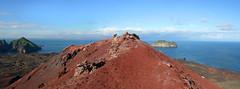 View from Eldfell to the east (thorrisig) Tags: ocean light red sea sky panorama mountain nature landscape island volcano lava iceland rocks view vestmannaeyjar ísland náttúra westmanislands hraun rautt þorri eldfjall thorri himinn dorres landslag fjall rauður útsýni eyja grjót sjórinn bjarnarey sigurgeirsson þorfinnur heymaey víðátta thorfinnur thorrisig þorrisig thorfinnursigurgeirsson eldfjöll