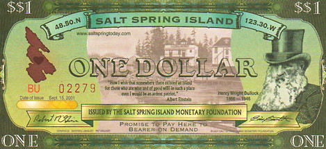 Salt Springs One Dollar