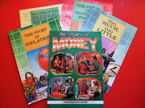 Federal Reserve Comic Books